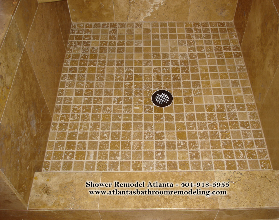 Shower floor tiles ideas images photos for Shower room floor tiles