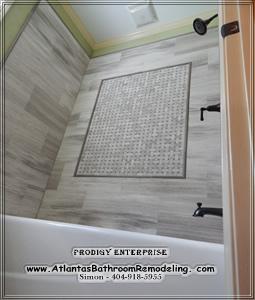 Atlanta Bathroom Remodeling Company Shower Pan Repair